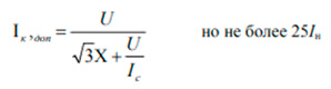 Формула термического тока
